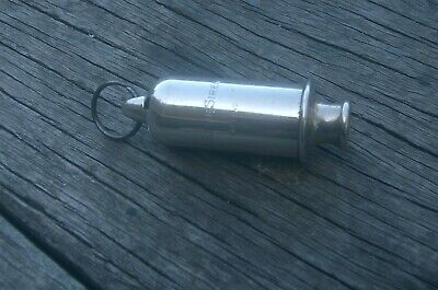 Ww1 Anzac <  Trench Gas Siren Whistle...>>. With Aif Details