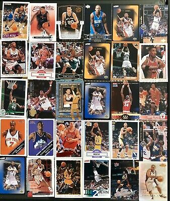 NBA Basketball Card All Star Hall Of Fame 40+ Card Lot Rookie Cards
