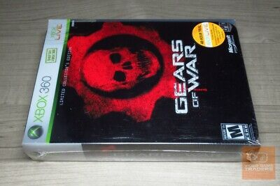 Gears of War Limited Collector's Edition (Xbox 360 2006) FACTORY SEALED!