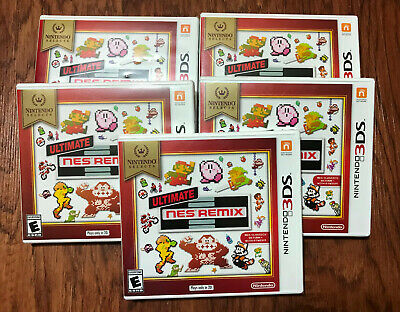 5 Ultimate NES Remix Nintendo 3DS, Mario, Donkey Kong, Zelda Factory Sealed New