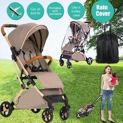 2019Portable Compact Lightweight Jogger Baby Stroller Pram Travel Carry-on Plane