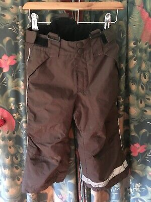 Boys H&M Waterproof Warm Winter Trousers Ski Wear 18 Mnths - 2 Yrs
