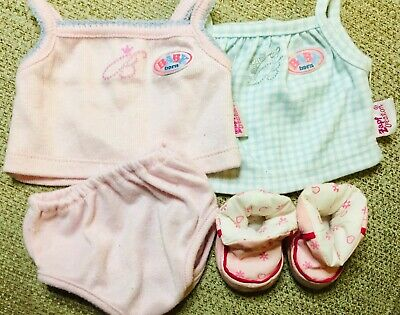 Baby Born Zapf Creations Vests & Slippers Set
