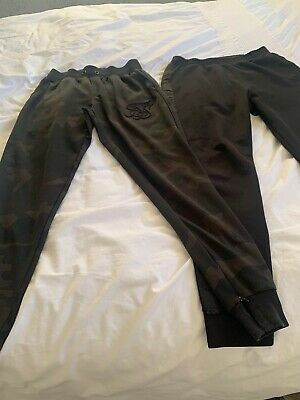 Boys Sik Silk & Good For Nothing  Joggers. 13 - 15 Years.