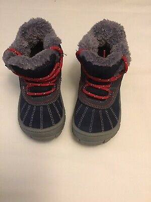 Osh Kosh B'gosh Boys Toddler Blue Snow Boots. 9
