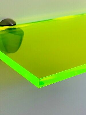 Bright Coloured Shelving Perspex Acrylic Modern Display Shelf for Home - Offices