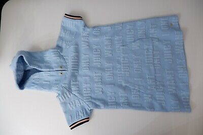 Juicy Couture Girls Beech Dress, Size Age 8 Years, Blue, VGC
