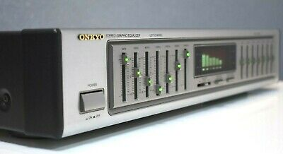 ONKYO EQ-201 Stereo 7-Band Graphic Equalizer  Sehr guter Zustand