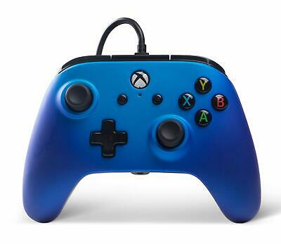 Enhanced Wired Controller (Sapphire Fade) (Xbox One) (New) - (Free Postage)