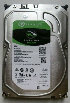"Seagate BarraCuda 2TB Internal Hard Drive 3.5"" SATA 6Gbs 7200 RPM (ST2000DM008)"