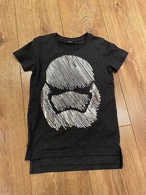 New Without tags NEXT Boys Star Wars T-Shirt Age 6