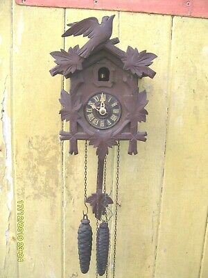 Cuckoo Clock Parts Ticking  And Striking Complete