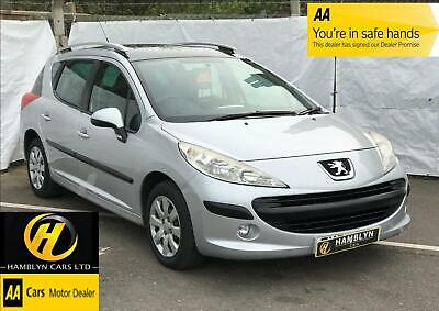 Peugeot 207 SW 1.4 VTi 95 Estate, ( a/c ) S Panoramic Glass roof, AA Warranty