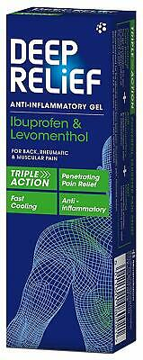 Deep Relief Anti-Inflammatory Gel For Back and Muscular Pain 50 grams