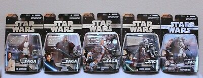 Star Wars The Saga Collection Clone Revenge of the Sith Episode 3 LOT (TT)