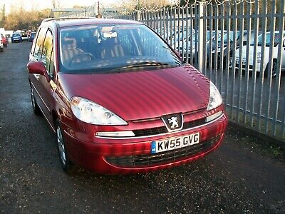 PEUGEOT 807 SE 2.0 cc HDi  AUTO  ( 7 SEATER ) '55' 06  WITH  LOW MILEAGE