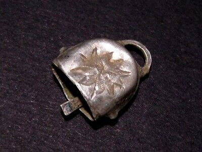 Outstanding Rare Small Roman Ritual Silver Bell, With Decoration+++