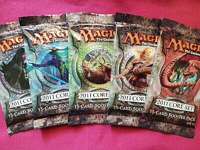 Magic The Gathering 2011 CORE SET New Sealed Booster Pack MTG