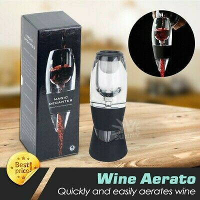 New Magic Decanter Essential Red Wine Aerator Sediment Filter