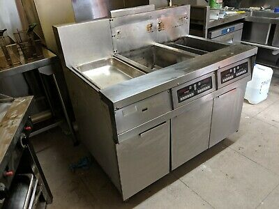Frymaster Commercial Deep Fryer (With Heated Dump Station)