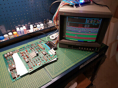 1983 KONAMI Hyper Olympic Arcade PCB Game - Tested and Working - B0