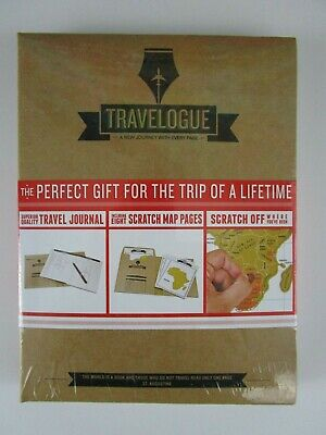 TRAVELOGUE Personalized Travel Journal perfect for Trip of a Lifetime Luckies