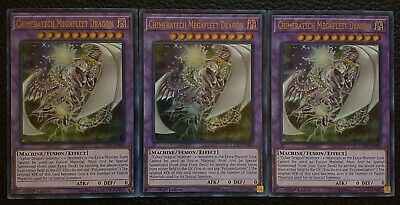 2017 Yugioh Deck 1St Edition Ultra Chimeratech Megafleet Dragon Ledd-Enb00 Lp