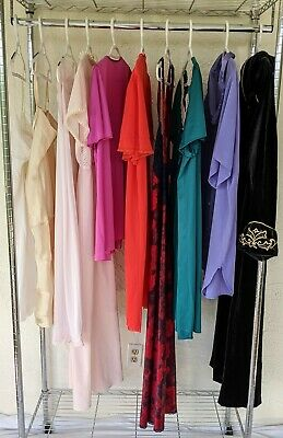 10 pc CUTTER lot Slips Nightgowns Nighties Housecoat Vanity Fair VS Mixed Sizes