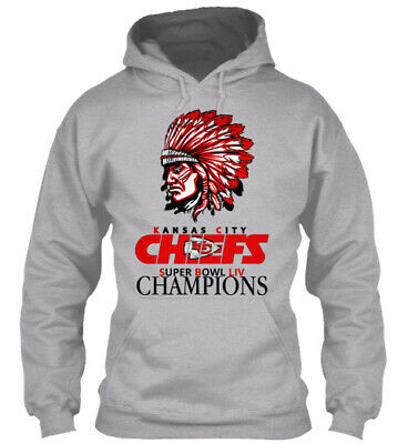 Kansas City Chiefs Super Bowl LIV Championship Long Sleeve Hoodie T Shirt AFC