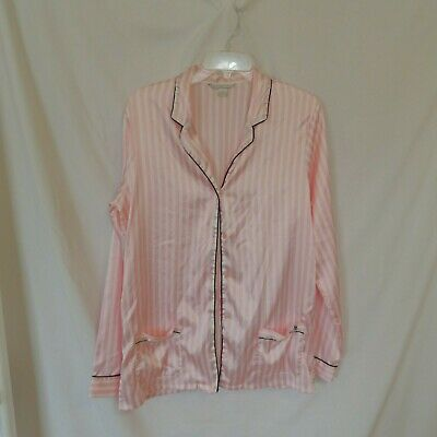 Victorias Secret Womens Pajamas Top Lounge Sleep Shirt  Size Medium