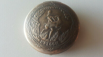 VINTAGE L'PEGGIE  Perfume Compact Poudre WITH MIRROR  Pat. 9-14-26 COLLECTIBLES