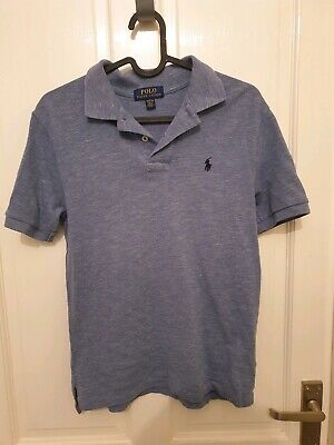 Ralph Lauren Boys Polo Tshirt Blue Size 10-12 Years Age