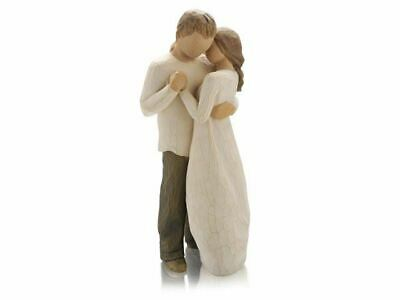 Willow Tree 26121 Promise Couple Love Figurine Figures Ornaments Collection Gift