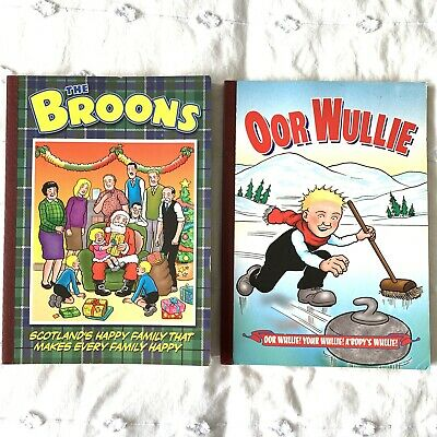 The Broons - Oor Wullie - Scottish Comic Books