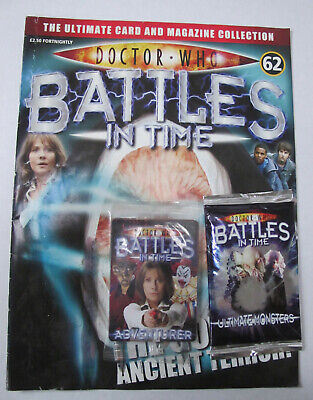 DOCTOR WHO BATTLES IN TIME (Part 62) Plus 2 Unopened Packs
