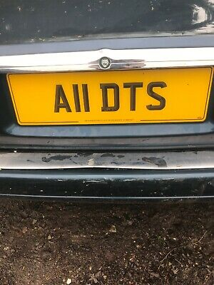 Private Number Plate     A11DTS
