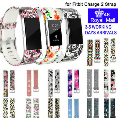 Strap for Fitbit Charge 2 Wristband Secure Buckle Replacement Band Pattern Strap