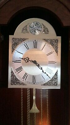 Grandfather Clock- Hermle Westminster chimes - excellent cond. FREE DELIVERY