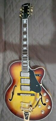 Chitarra  elettrica   jazz Montreal japan made  anni 90  gibson style