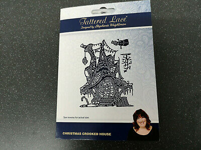 TATTERED LACE PEARL CHRISTMAS TREES DIE SET D1342