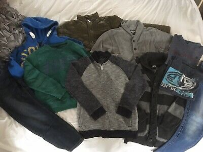 Boys Clothing Bundle. Jeans, Jumpers 9 and 10 Years