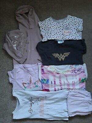 Girls Mixed Bundle Of Clothes Age 9/10 Years