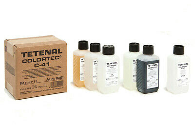 Tetenal Colortec C-41 Colour Negative 2-Bath Kit 1 litre