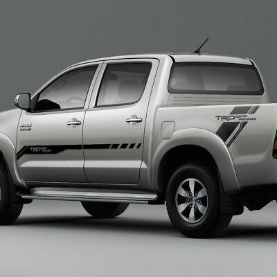 Toyota HILUX TRD OFF ROAD Graphics side decal stripe decal