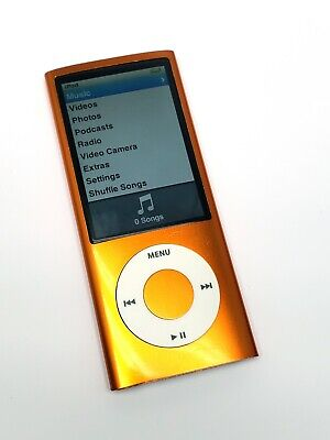 iPod nano 5th generation 8GB ORANGE  Good Condition with Accesories!