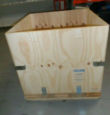 ULINE WOOD SHIPPING CRATE 36 x 36 x 36  S-18995  10 CRATES TOTAL