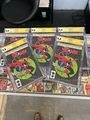 SPAWN #301 CGC SS 9.8 SIGNED BY TODD MCFARLANE Only 16  Alamo Exclusive Exist!!!