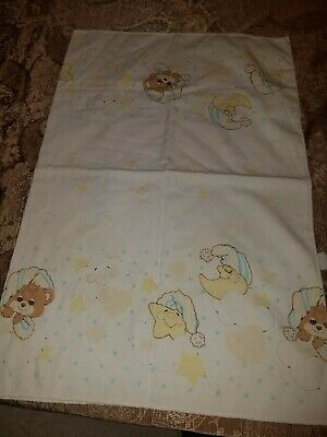 Teddy Beddy Bear Riegel VTG Receiving Blanket