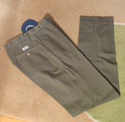 Polo Ralph Lauren Chatfield Pants Chino Trousers Olive Green 32/32