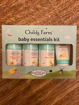 Childs Farm Baby Essentials Kit Gift Set Brand New In Box